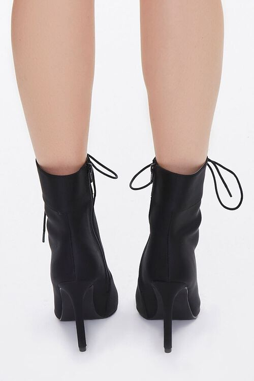 Lace-Up Stiletto Booties, image 3