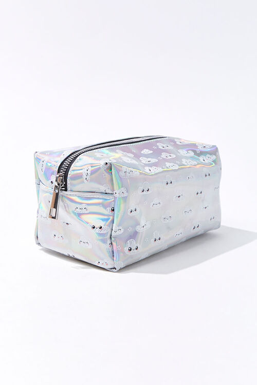 Iridescent Cloud Makeup Bag, image 2