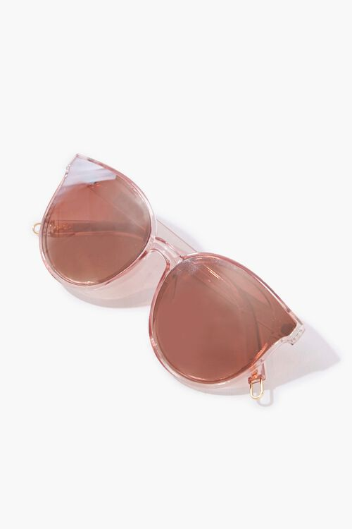 Clear Round Sunglasses, image 4