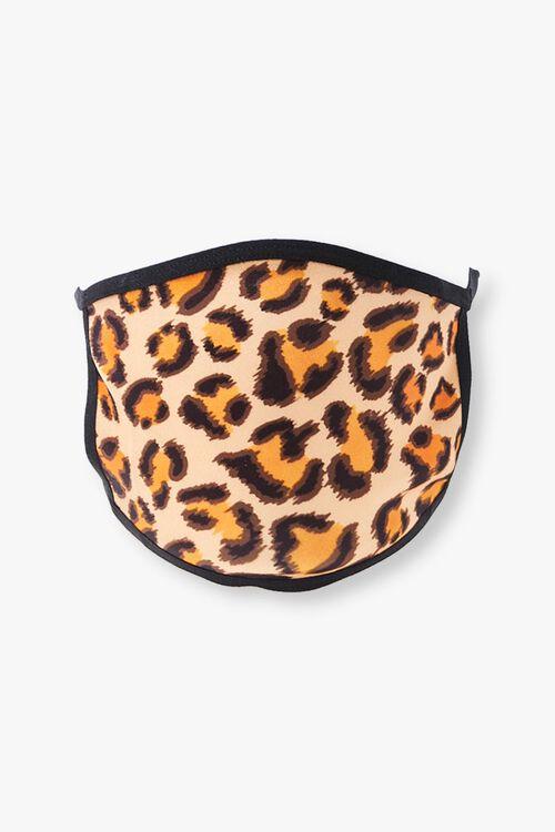 Leopard Print Face Mask, image 1