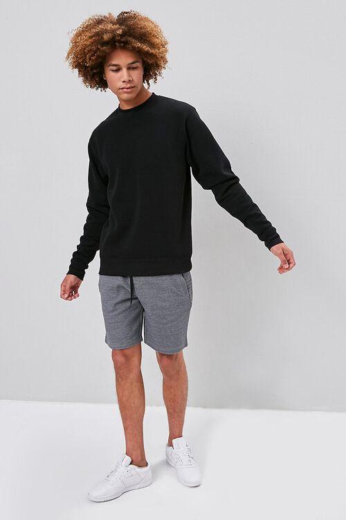 Marled Drawstring Shorts, image 4