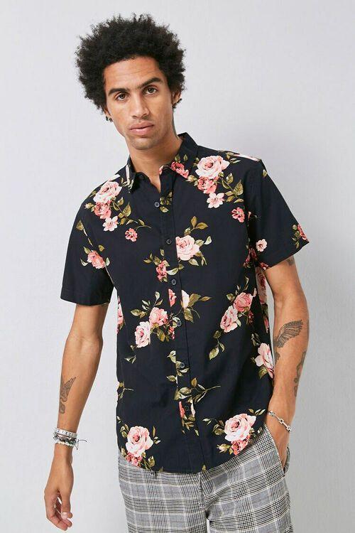 Classic Fit Floral Print Shirt, image 5