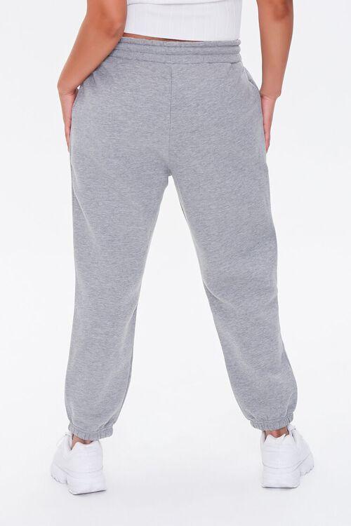 Plus Size Fleece Drawstring Joggers, image 4