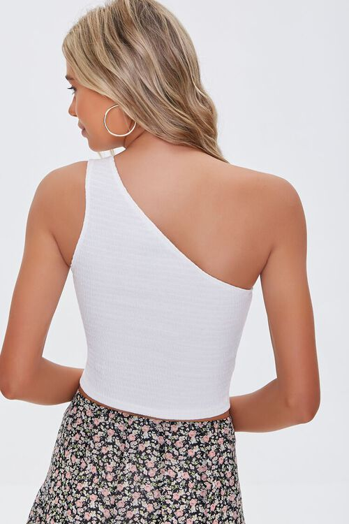 Textured One-Shoulder Top, image 3