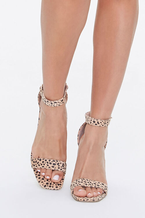 Cheetah Print Block Heels, image 4
