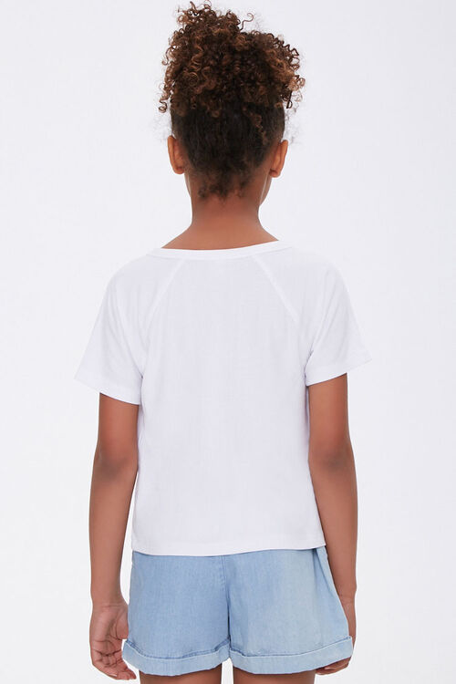 Girls Button-Front Top (Kids), image 2