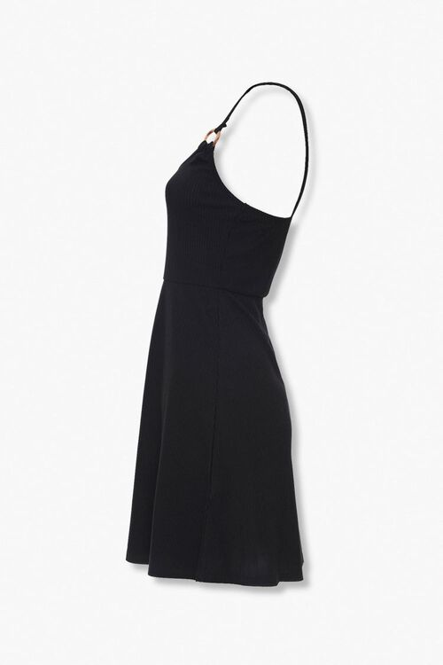 Ribbed Knit Skater Dress, image 2