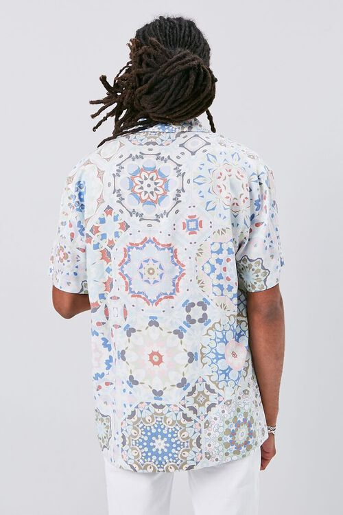 Classic Fit Ornate Print Shirt, image 3