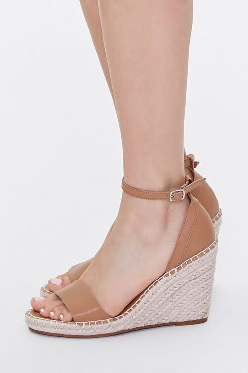 Strappy Espadrille Wedges, image 2