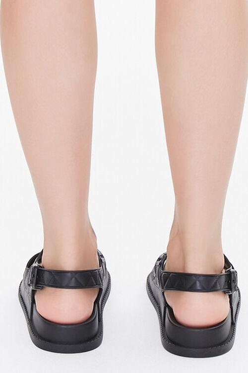 Cutout Flatform Sandals, image 3