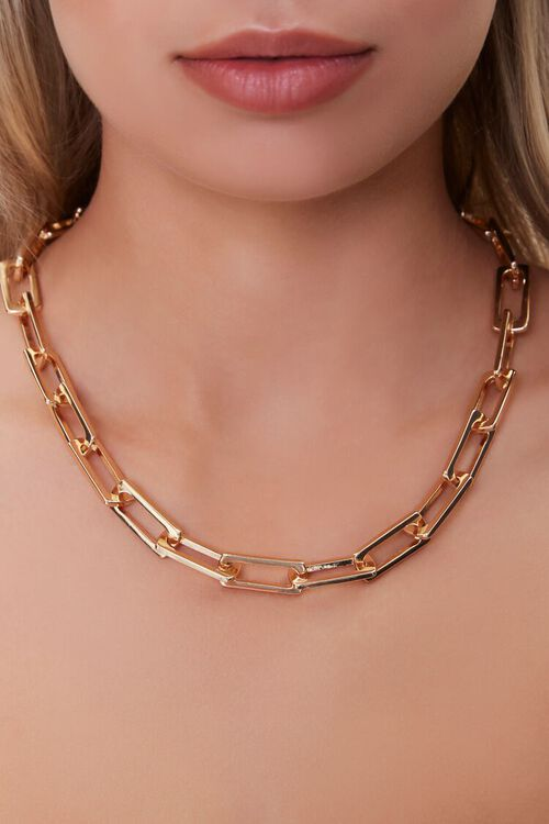 Anchor Chain Necklace, image 1