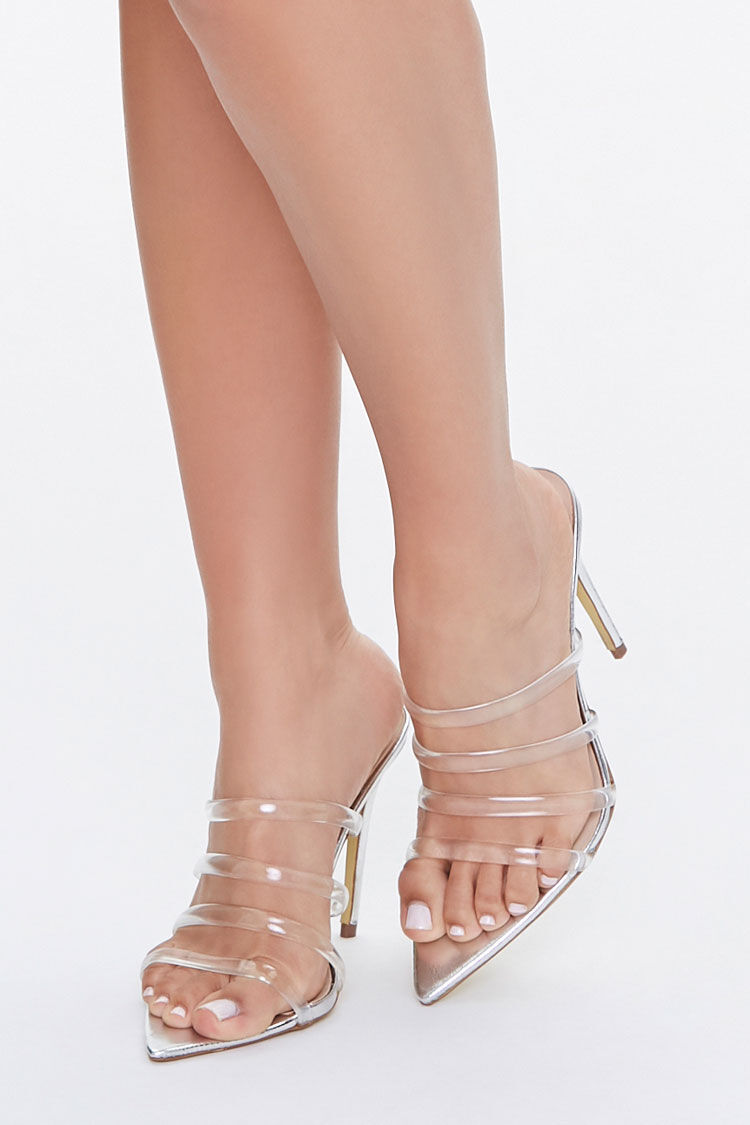 Silver Metallic Shoes | Forever 21