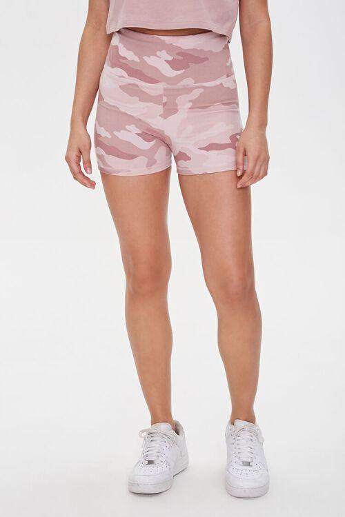 Active Camo Print Shorts, image 2