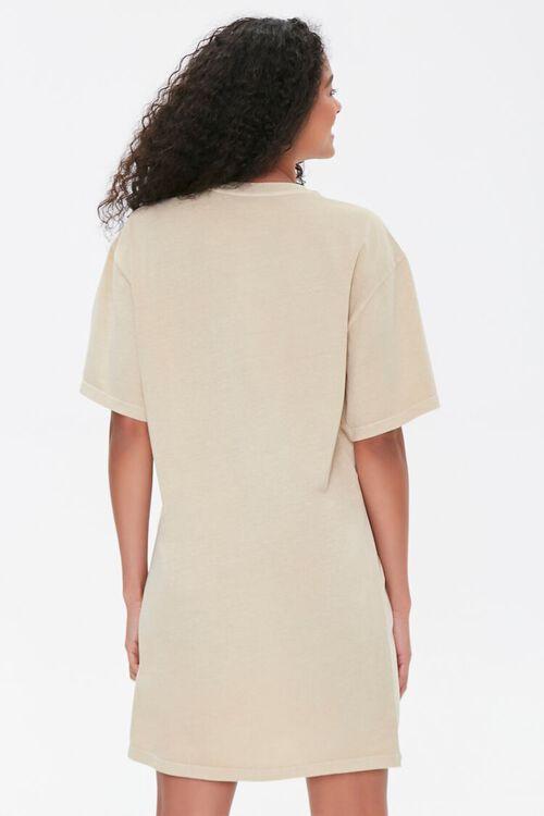 TAUPE/MULTI Malibu Graphic T-Shirt Dress, image 3