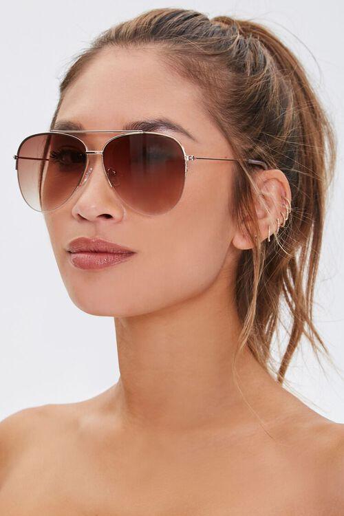 Aviator Metal Sunglasses, image 1