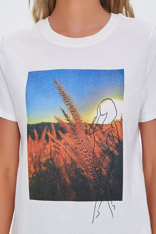 Organically Grown Cotton Graphic Tee, image 5