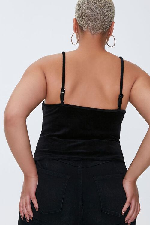 Plus Size Heart Cropped Cami, image 3