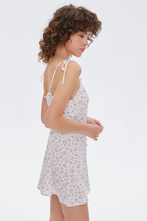Floral Self-Tie Cami Dress, image 2