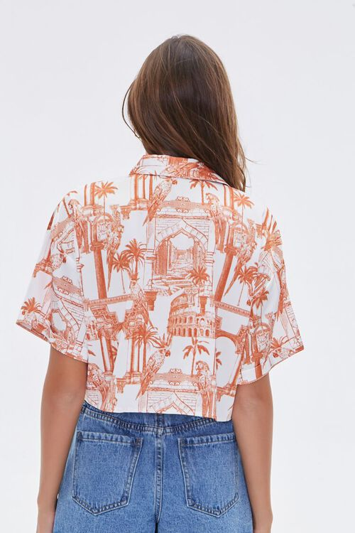 Tropical Architecture Print Shirt, image 3