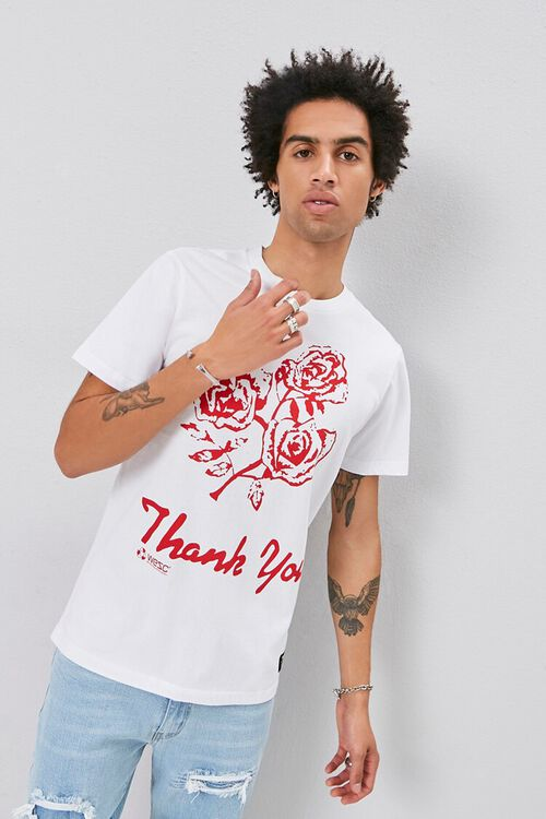 WESC Thank You Graphic Tee, image 1