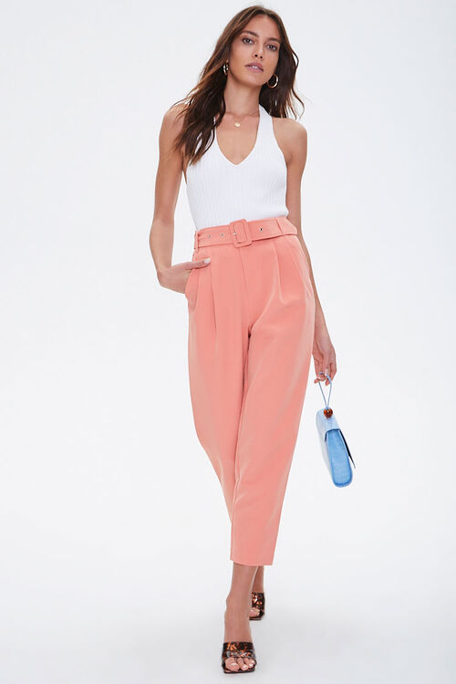 Belted Ankle Pants, image 5