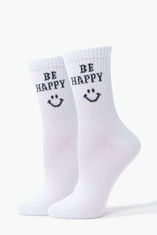 Be Happy Crew Socks, image 1