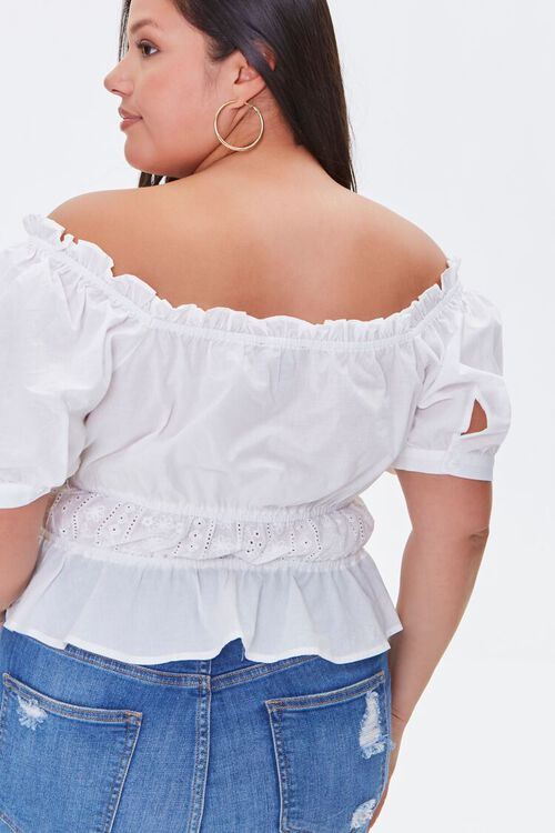 Plus Size Off-the-Shoulder Top, image 3