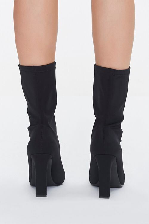 Faux Suede Slouchy Booties, image 3