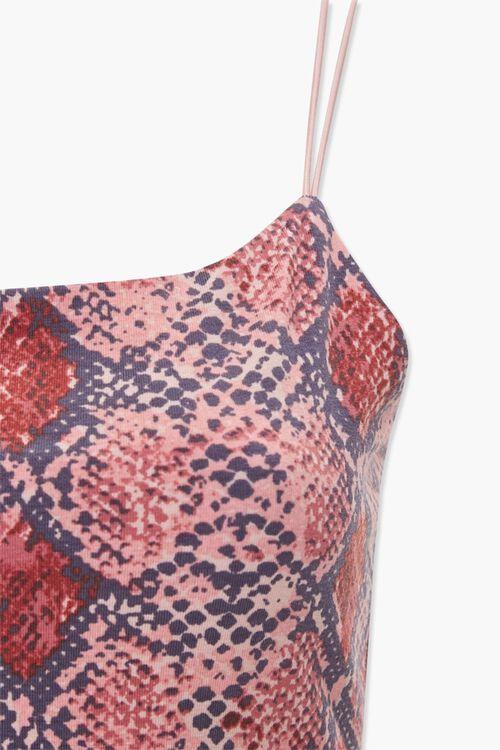 Strappy-Back Snake Bodysuit, image 3