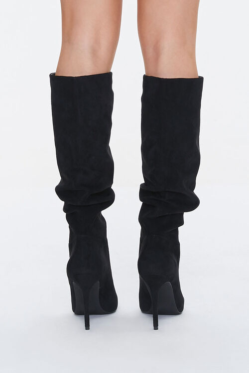 Slouchy Stiletto Knee-High Boots, image 3