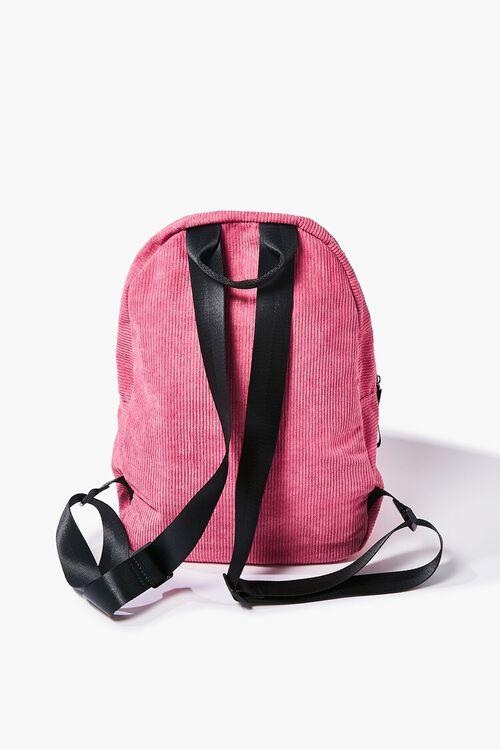 Corduroy Zippered Backpack, image 3