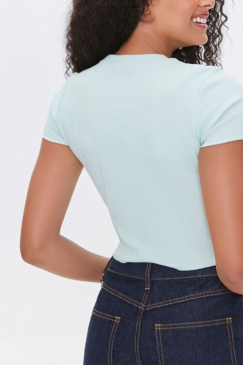 Shell Patch Cropped Tee, image 3