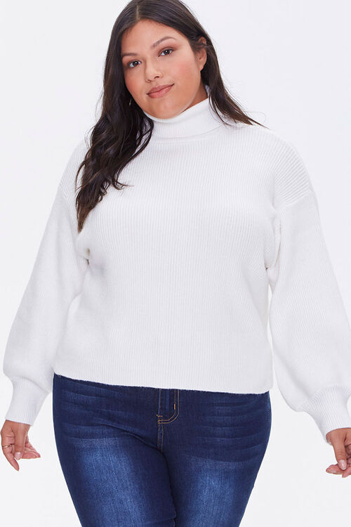 Plus Size Turtleneck Sweater, image 5