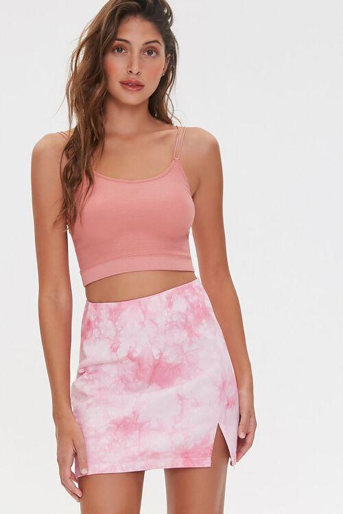 Tie-Dye Mini Skirt, image 1