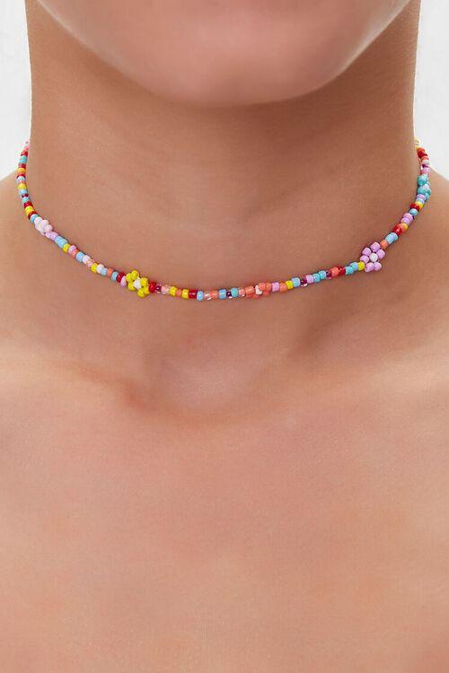 Beaded Choker Necklace, image 1
