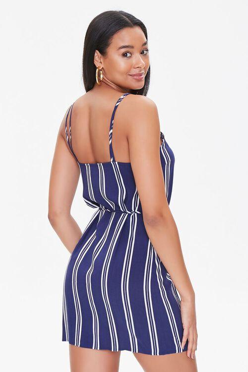 Striped Dual-Strap Cami Dress, image 3