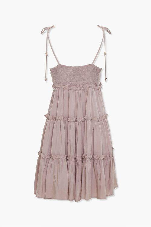 Tiered Ruffle-Trim Shift Dress, image 3