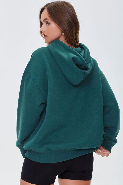 Fleece Drawstring Hoodie, image 3