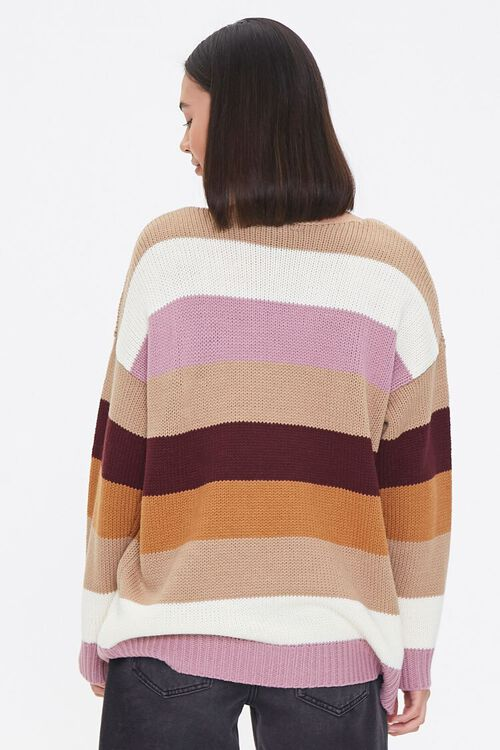Striped Drop-Sleeve Sweater, image 3