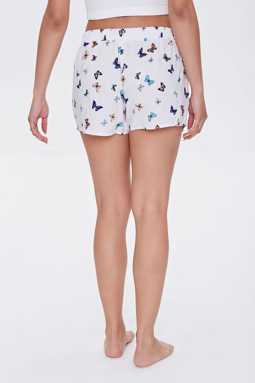 Butterfly Print Lounge Shorts, image 4