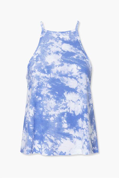 Active Tie-Dye Split-Back Cami, image 1