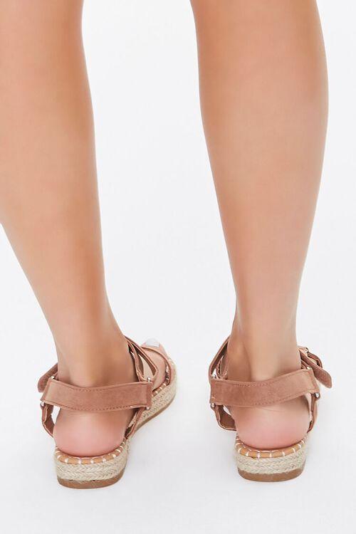Caged Espadrille Flatform Sandals, image 4