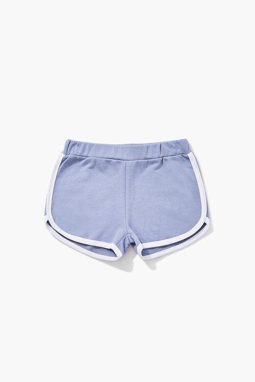 Girls Contrast-Trim Dolphin Shorts (Kids), image 1