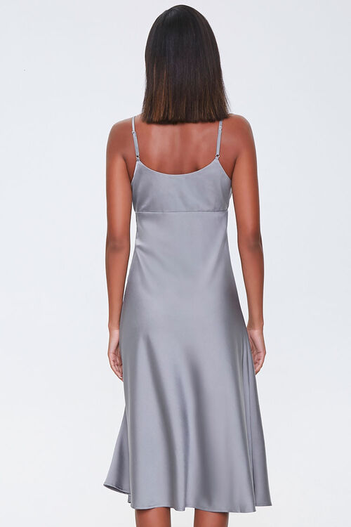 Ruched Satin Dress, image 3