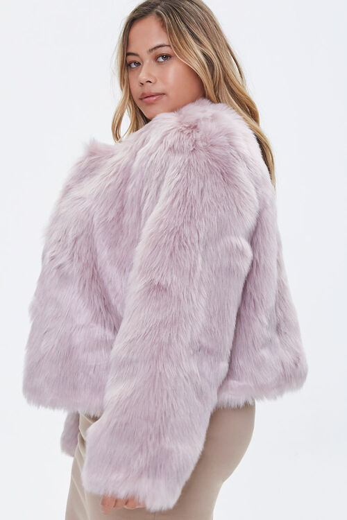 Plus Size Faux Fur Open-Front Jacket, image 2