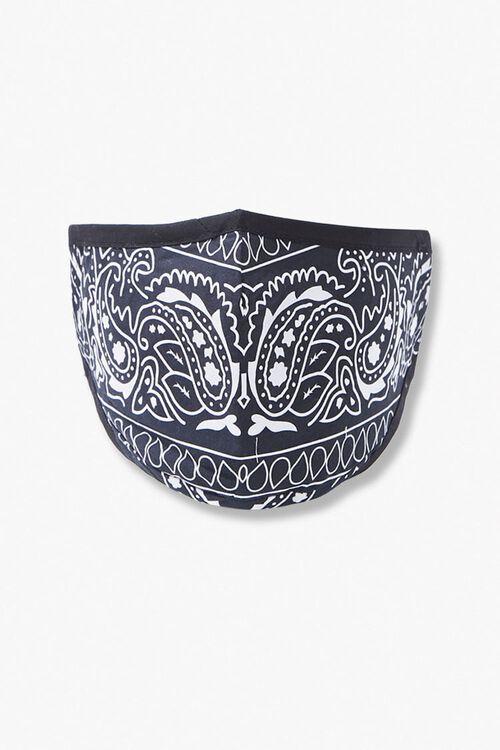 Ornate Paisley Face Mask, image 1