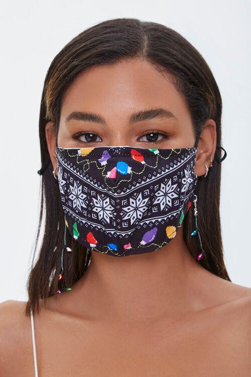 Christmas Lights Face Mask, image 2