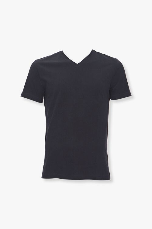 Cotton V-Neck Tee, image 1