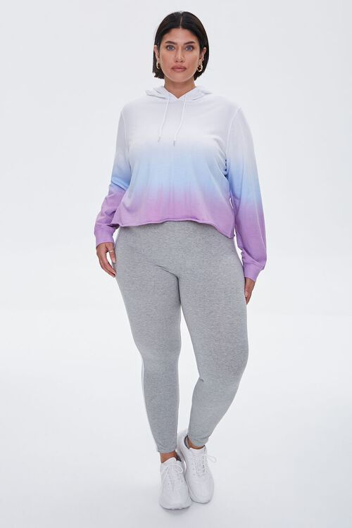 Plus Size Active Ombre Hoodie, image 4