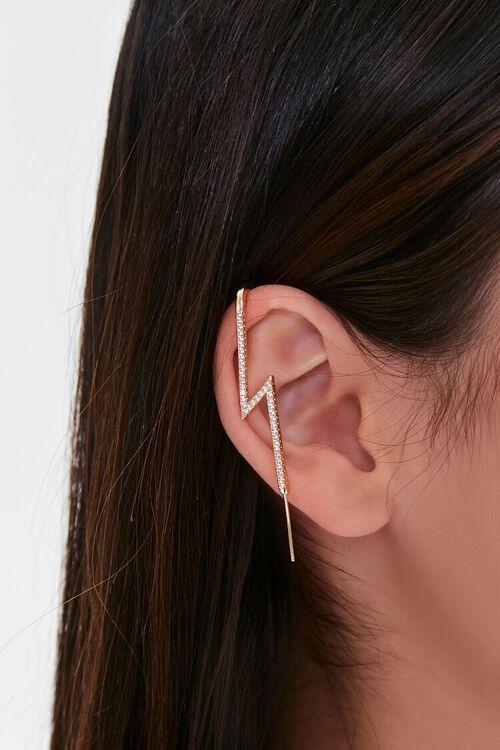 GOLD Thunderbolt Ear Cuff, image 1